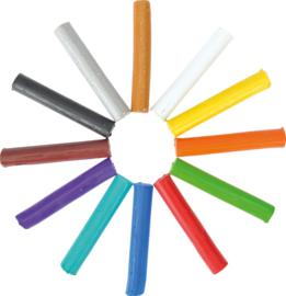 Plasticine 12 kleuren
