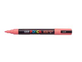 Verfstift Posca fijne punt 0.9 - 1.3 mm.  koraal/roze