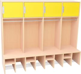 IDEAL garderobes - geel
