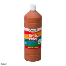 Plakkaatverf Creall basic licht bruin 1000 ml