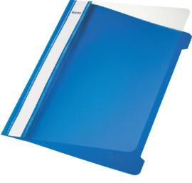 10x Snelhechter Leitz 4191 A4 PVC blauw