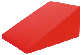 Foam glijbaan klein  80x60x40cm - Rood