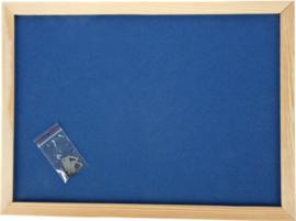 Prikbord 100 x 150 cm - marine