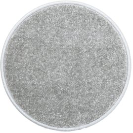 Rond tapijt - diam. 60 cm - grijs
