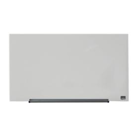 Glasbord Nobo Diamond 67,7x38,1cm wit