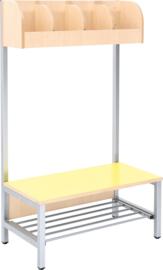 Flexi garderobe 4, zithoogte 26 cm - geel