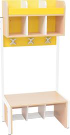 School garderobe Butterfly 3 - geel