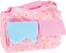 Tas met accessoires voor de baby