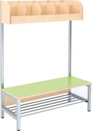 Flexi garderobe 5, zithoogte 35 cm - groen
