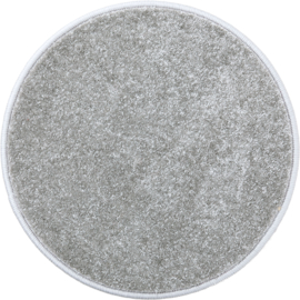 Rond tapijt - diam. 50 cm - grijs
