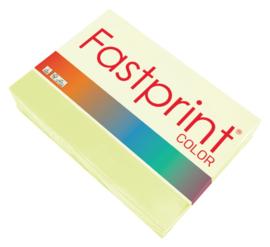 Kopieerpapier Fastprint A4 80gr citroengeel 500vel