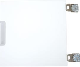 Quadro - kleine deuren 180, gemonteerd op de scheidingswand - 12 kleuren