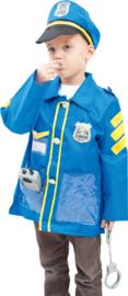 Verkleedpak - politieagent met accessoires
