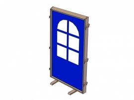 Scheidingswand deur