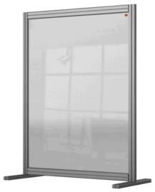 Bureauscherm Nobo Modulair transparant acryl 800x1000mm