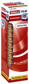 Vergroten Plakband Tesa film   12mmx10m transparant