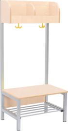 Flexi garderobe 2, zithoogte 26 cm - esdoorn