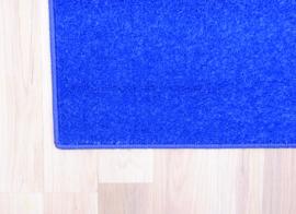 Eenkleurig tapijt - blauw 2 x 2 m