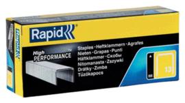 Nieten Rapid 13/8 gegalvaniseerd standaard 5000 stuks