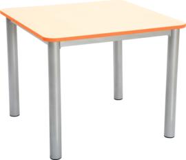 Premium vierkant tafelblad - oranje
