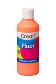 Plakkaatverf Creall fluor 250 ml - Oranje