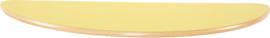Halfrond Flexi tafelblad 120x60cm geel los