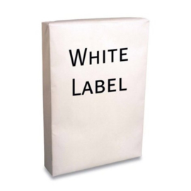 200 pak Kopieerpapier A4 White label 80gr wit 500 vel