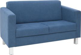 Relax bank marineblauw - vierkante poten