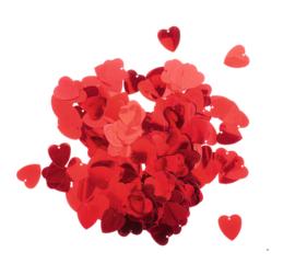 Pailletten - rode harten