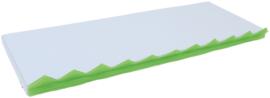 Matrassenset voor manipulatieve wand - 1 stuk, grijs