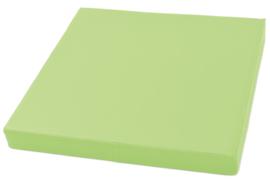 Vierkante matras 60x60cm - groen