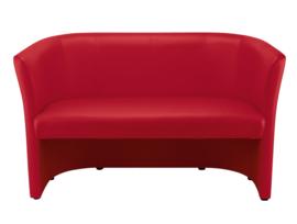 Sofa Club duo  rood