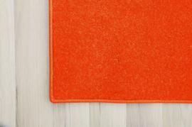 Eenkleurig tapijt - terracotta 2 x 2 m