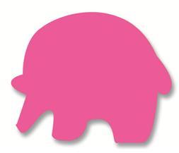 Jumbo - Plakfiguur olifant 200st assorti