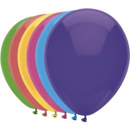 100 xBallonnen div kleuren middelgroot