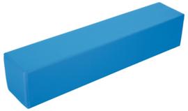 Foam balk klein  100x20x20cm - Blauw