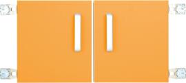 Deur voor niveau verhoger S (092817) - oranje