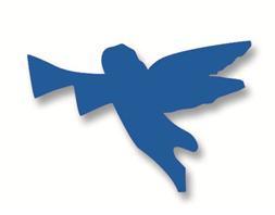 Plakfiguur - Engel 400st assorti