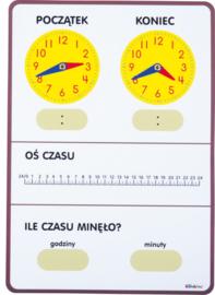 Tijdbord - voor leraar