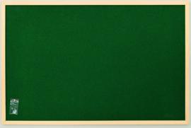 Prikbord 60 x 90 cm - groen