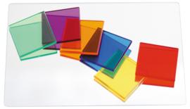 Transparante wiskundige vierkanten