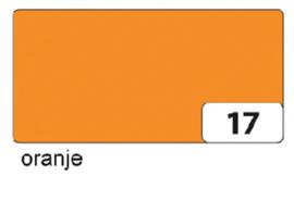 Engels karton  2 zijdig 50x70cm 300gr nr17 oranje