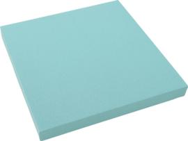 Geluiddempend vierkant PLUS, turquoise