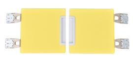 Quadro - garderobe deuren 180 - geel