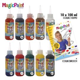 Biocolor magic paint 10 x 100 cc -  Assorti
