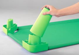Poten voor stretcher  groen