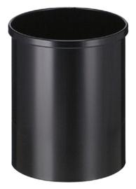 Papierbak Vepabins 15 liter zwart
