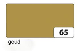 Etalage karton  1 zijdig 50x70cm 250gr nr65 goud