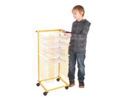 Droogrek geel 25 rekken