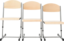 Len stoel met instelbare hoogte - maat 4-6